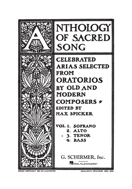 Anthology of Sacred Song - Volume 3