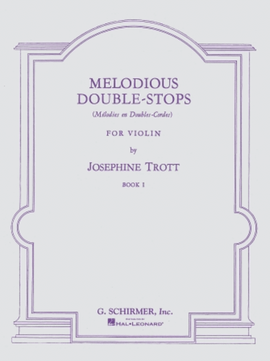 Melodious Double-Stops - Book 1 (Violin)