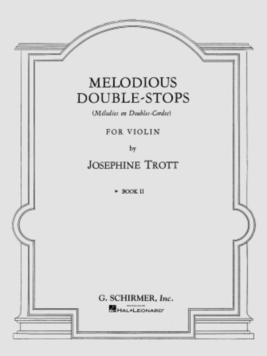 Melodious Double-Stops - Book 2 - Violin