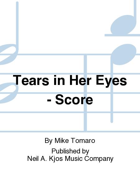 Tears in Her Eyes - Score