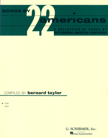 Songs by 22 Americans