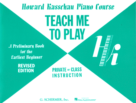 Teach Me to Play: Preliminary Beginner Book