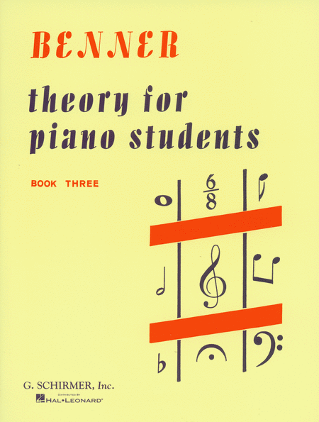 Theory for Piano Students - Book 3