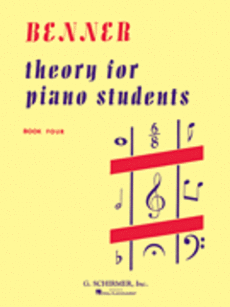 Theory for Piano Students - Book 4