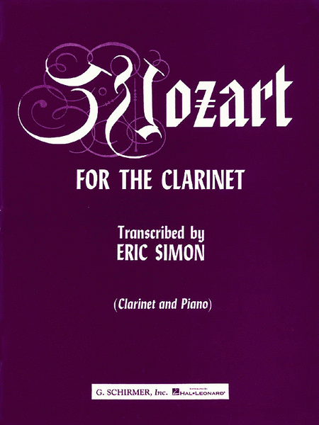 Mozart for the Clarinet