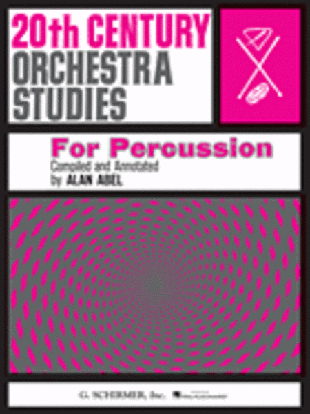 20th Cent. Orch Studies/Perc