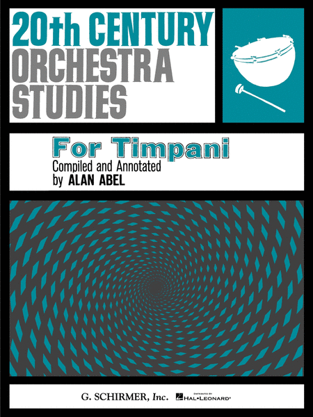 Twentieth Century Orchestra Studies for Timpani