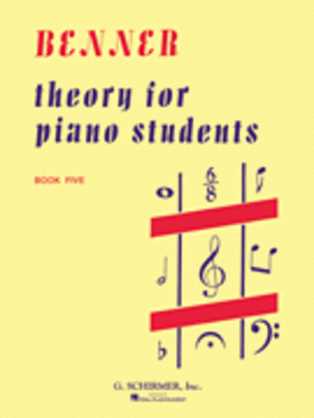 Theory for Piano Students - Book 5