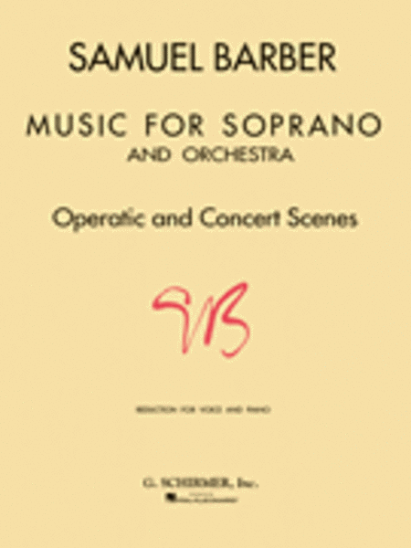 Music for Soprano and Orchestra