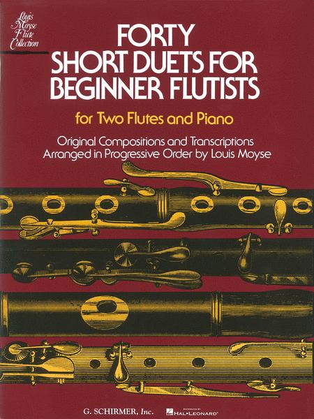 Forty Short Duets for Beginner Flutists