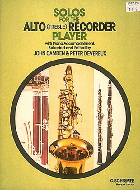 Solos for the Alto (Treble) Recorder Player