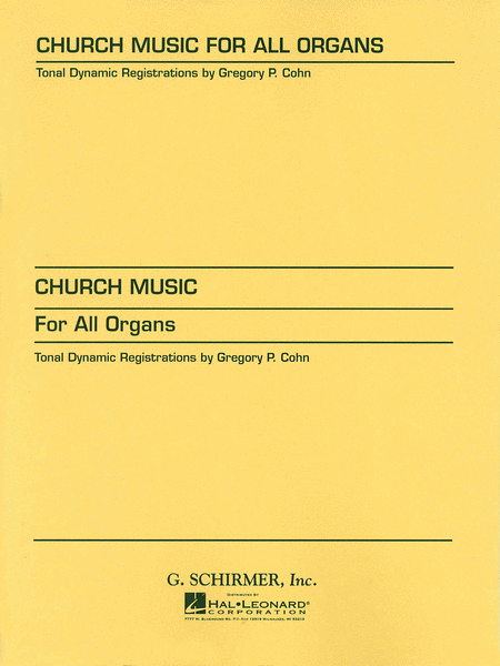 Church Music for All Organs