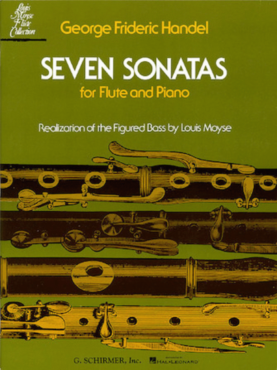 Seven Sonatas for Flute and Piano