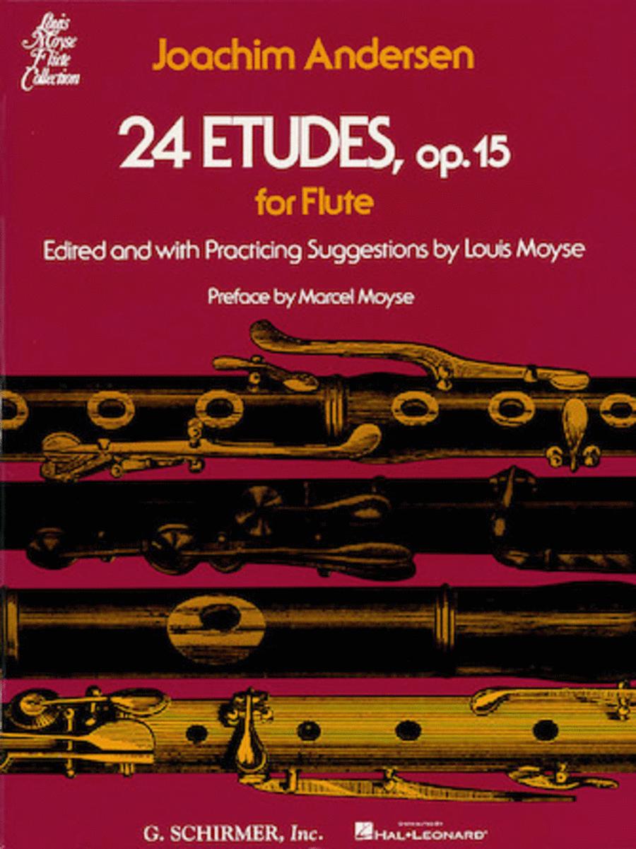 24 Etudes, Op. 15