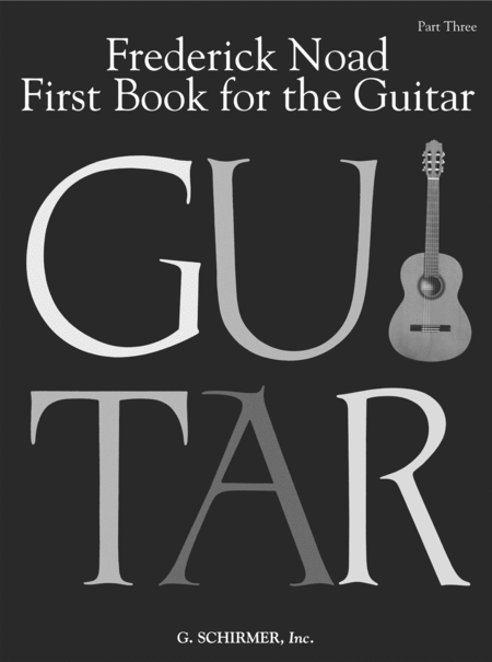 First Book for the Guitar - Part 3