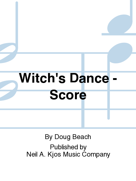 Witch's Dance - Score
