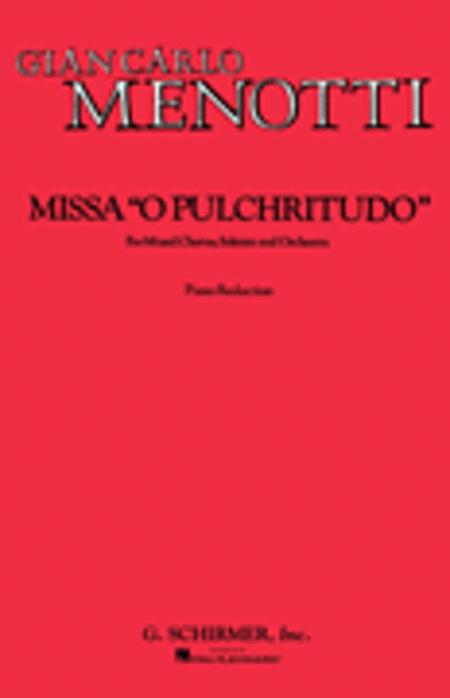 Missa O Pulchritudo