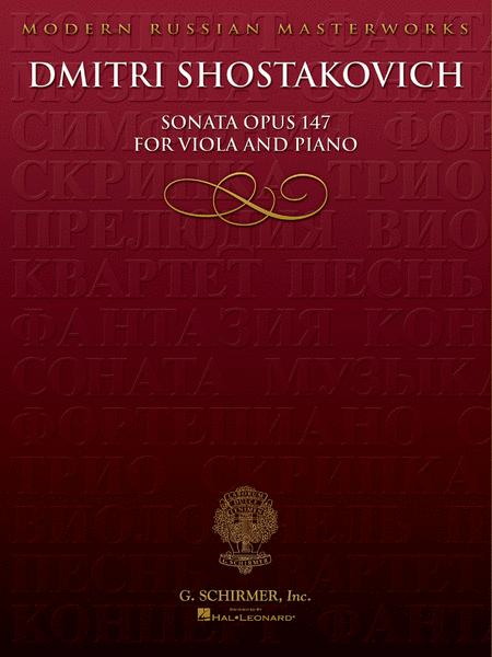 Sonata (Piano/Viola)