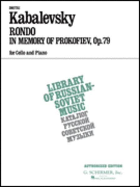 Rondo in Memory of Prokofieff, Op. 79