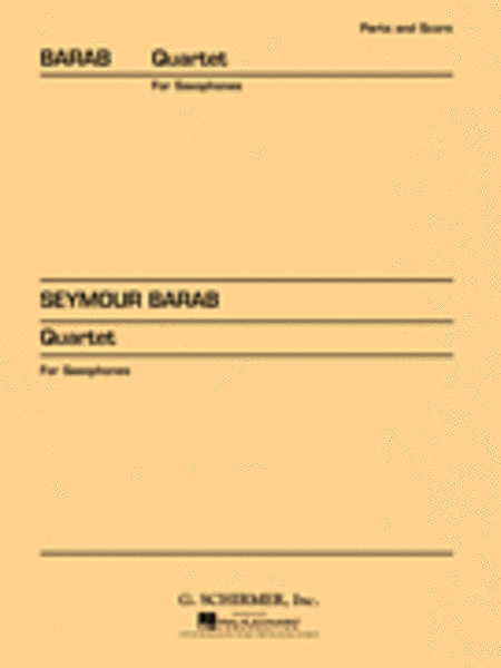 Quartet for Saxophones