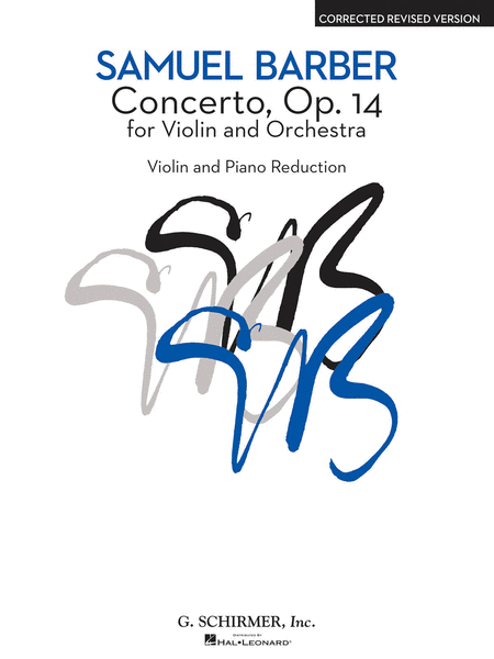 Concerto for Violin and Orchestra (Piano/Violin)