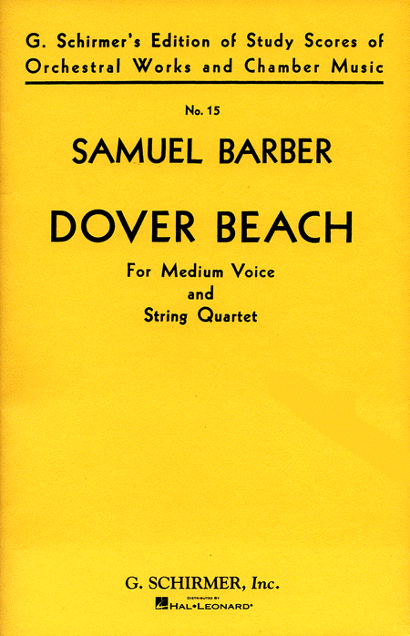 corsons inlet and dover beach symbolic comparison essay