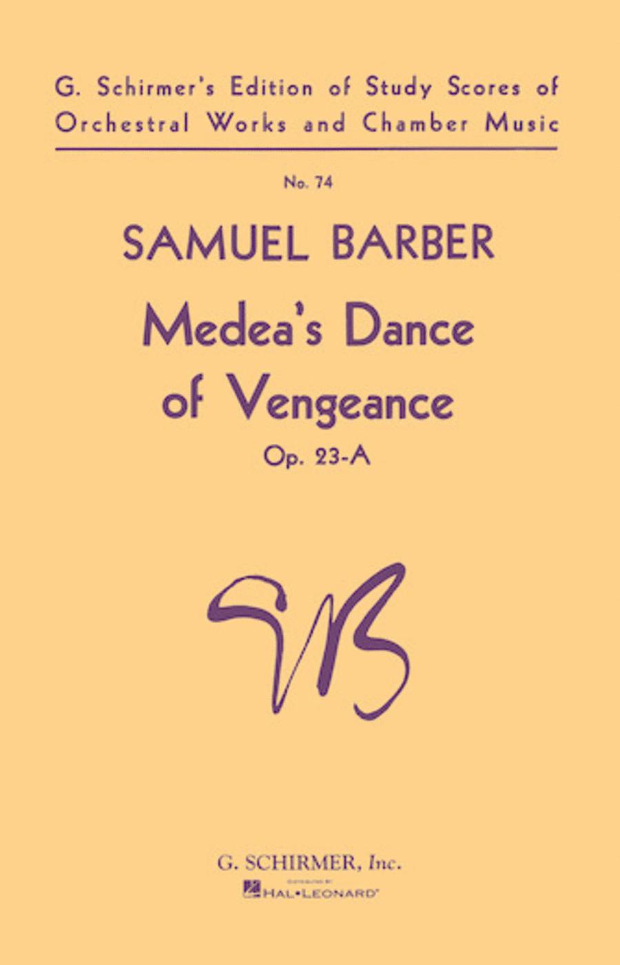 Medeas Dance of Vengeance, Op. 23a