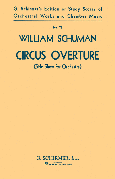 Circus Overture (Side Show for Orchestra)