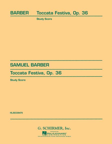 Toccata Festiva, Op. 36