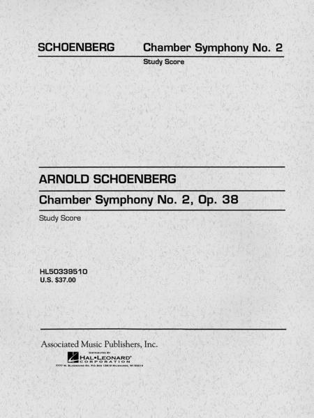 Chamber Symphony No. 2, Op. 38