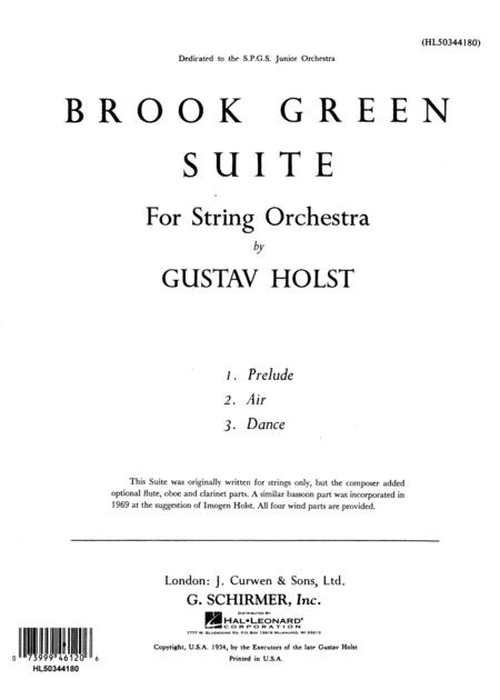 Brook Green Suite
