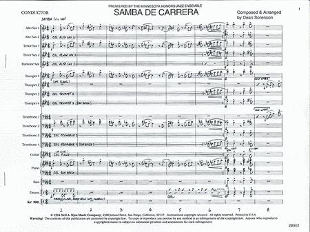 Samba De Carrera - Score