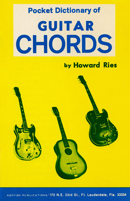 Pocket Dictionary of Guitar Chords