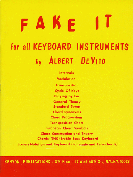 Fake It (for All Keyboard Instruments)