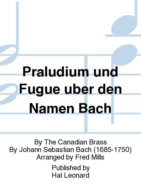 Praludium und Fugue uber den Namen Bach