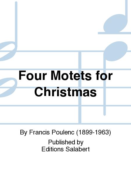Four Motets for Christmas