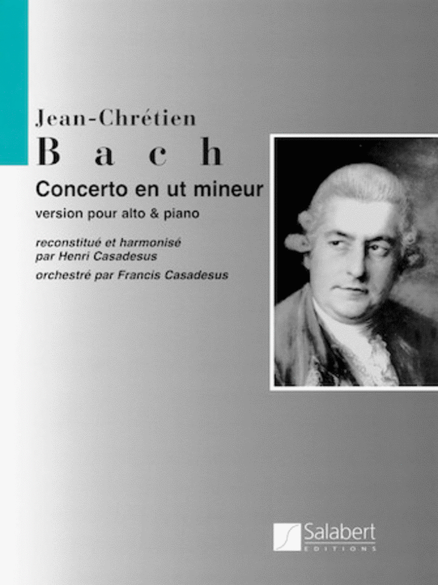 Viola Concerto In C Minor - Viola/Piano