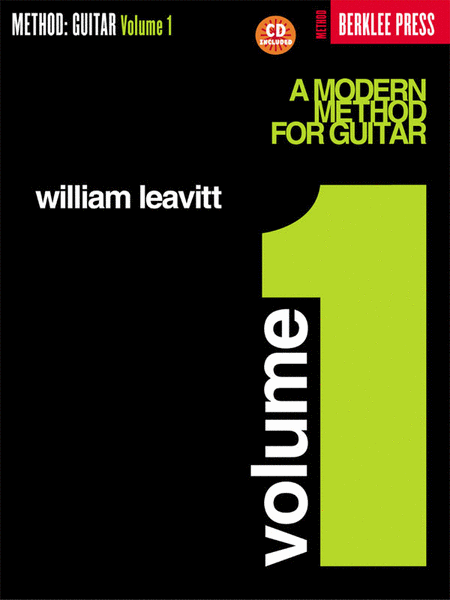 A Modern Method For Guitar - Volume 1