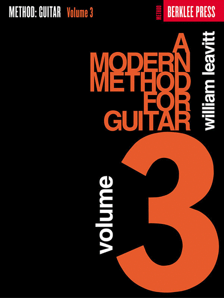 A Modern Method for Guitar - Volume 3
