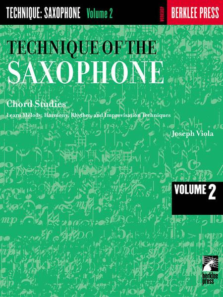 Technique of the Saxophone - Volume 2