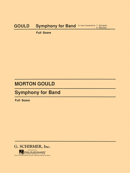 Symphony No. 4 (West Point Symphony) - Symphony for Band
