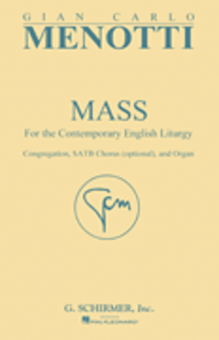 Mass for the Contemporary English Liturgy