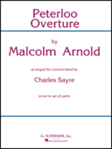 Peterloo Overture Bd Score