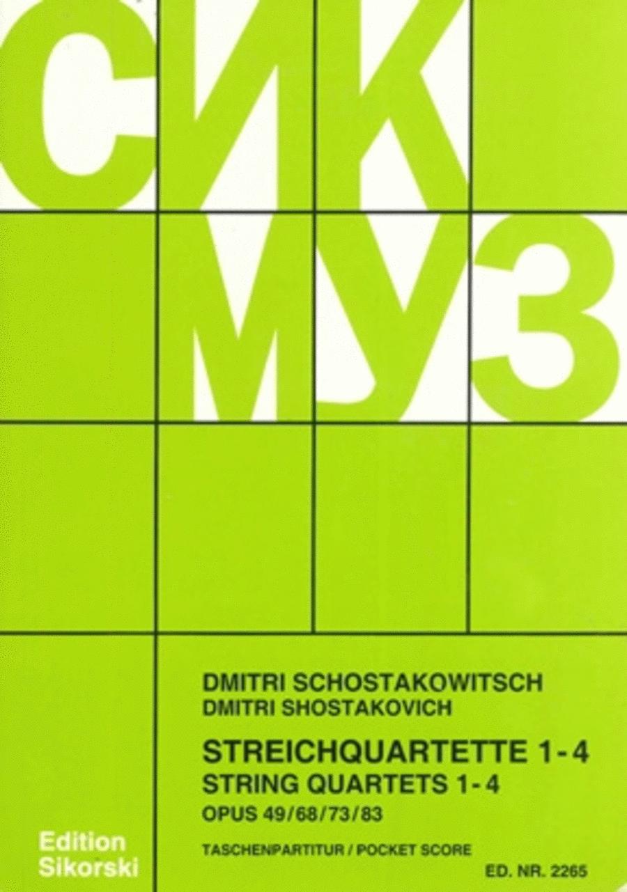 String Quartets, Nos. 1-4 (Op. 49, 68, 76, 83)