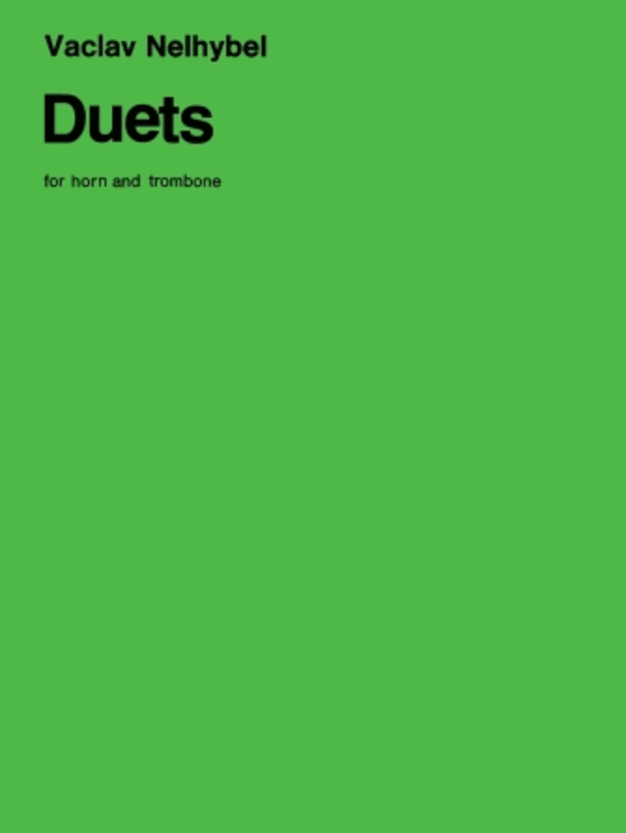 Duets for Horn and Trombone