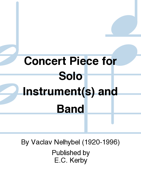 Concert Piece for Solo Instrument(s) and Band