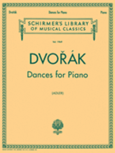 DANCES FOR PIANO