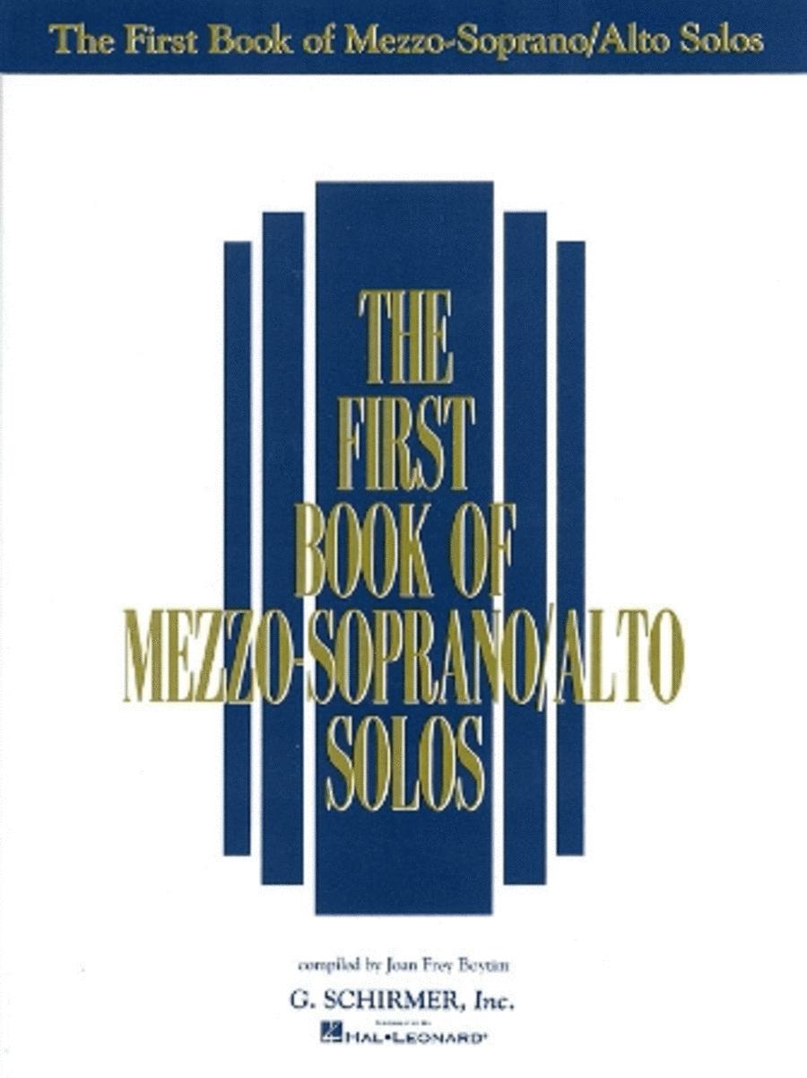 The First Book of Mezzo-Soprano/Alto Solos (Book Only)