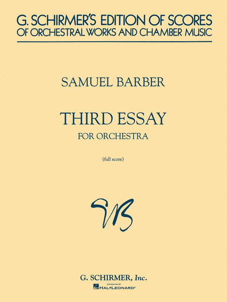 Third Essay for Orchestra