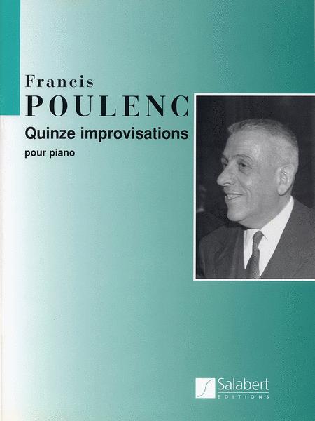 15 Improvisations Pour Le Piano